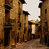 A village street in the Pyrenees