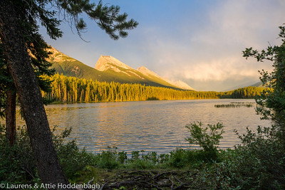 Honeymoon Lake, Jasper National Park, Alberta, CA