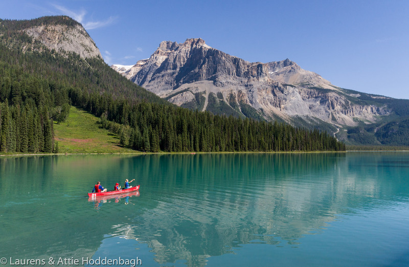 Emerald Lake, Yoho National Park, BC, CA