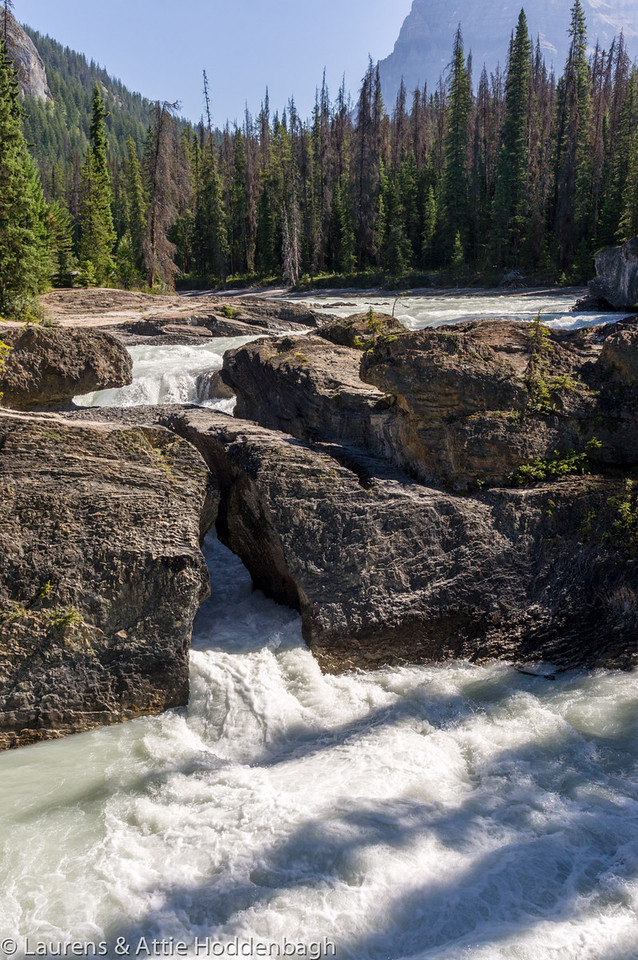 Natural Bridge at the Amiskwi River, Yoho National Park, BC, CA