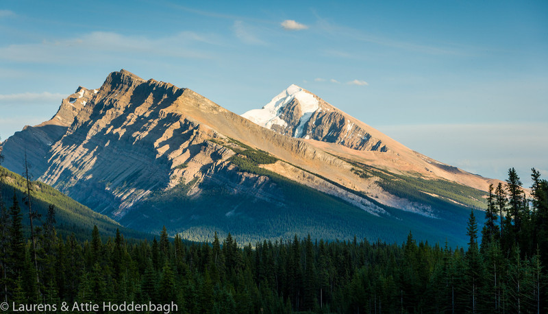 View from the Icefield Parkway at Jasper National Park, Alberta, CA