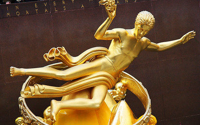 Prometheus at Rockefeller Center, New York City