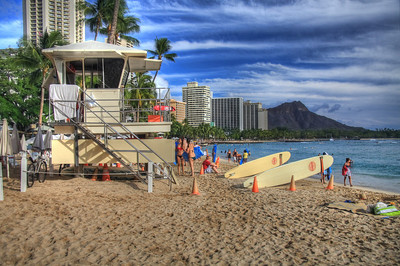Baywatch: Waikiki Style - Oahu, Hawaii, USA