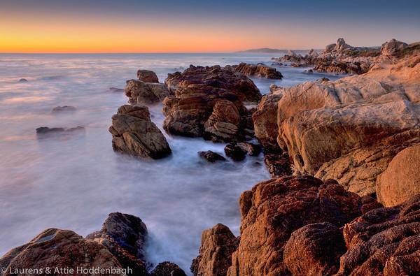Monastery Beach, Carmel River State Beach, California, USA  Filename: CEM010989-91-Carmel-CA-USA-Edit.jpg