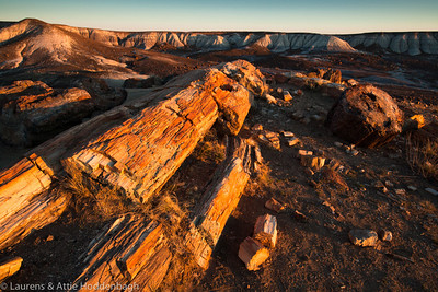 Petrified Forest National Park, Blue Mesa  Filename: CEM008401-PetrifiedForestNP-AZ-USA.jpg
