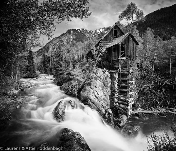 Crystal River Mill, Colorado, USA  Filename: CEM008912-14-Crystal_River_Mill-CO-USA.jpg