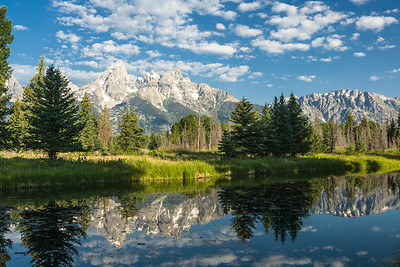 Schwabacher's Landing, Grand Teton NP, Wyoming, USA