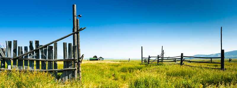 Fence and Farm at