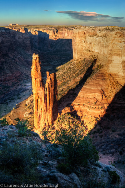 Canyon de Chelley, Spider Rock Overlook, Arizona  Filename: CEM008474-76-Canyon-de-Chelley-AZ-USA-Edit.jpg