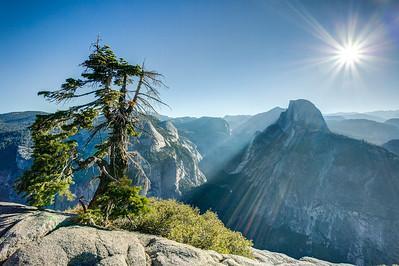 Half Dome Rock from Glacier Point, Yosemite NP