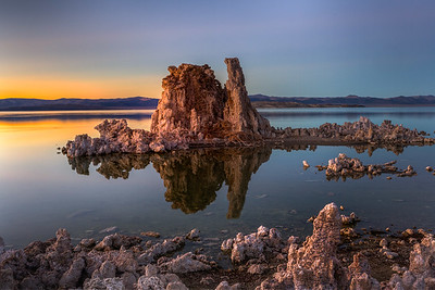Tufas at Mono Lake, CA