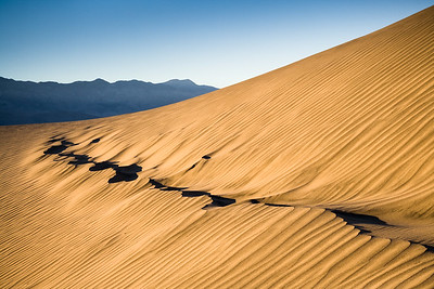 Sand Dunes, Death Valley, California