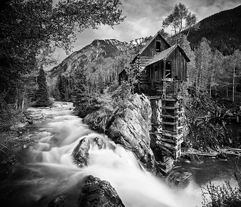 Crystal River Mill, Colorado, USA