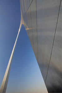 Steel Symmetry The Gateway Arch, St. Louis, MO, USA