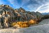 Scenic area at Buttermilk road near Bishop, CA