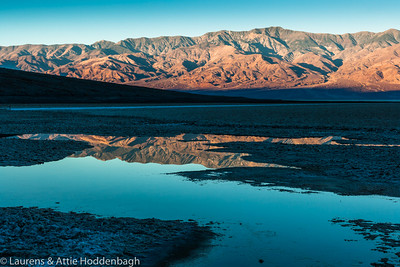 Badwater in Death Valley, CA
