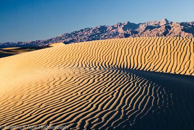 Sand Dunes, Death Valley, California