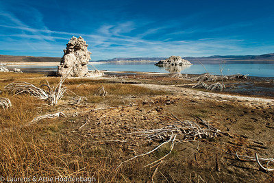 Tufa Formation at Mono lake at the 395, CA