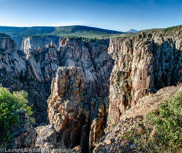 Cross Fissures - Black Canyon
