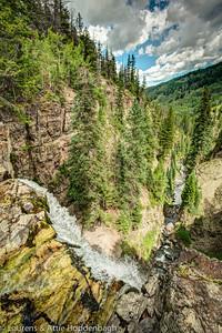 Mystic Falls, South of Telluride, CO, USA