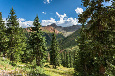 County Rd 8, Ophir Pass, From Silverton to Telluride, CO, USA  Filename: CEM014650-UncompahgreNF-CO-USA.jpg