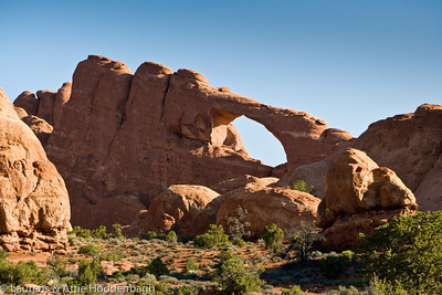 Skyline Arch, Arches National Park, Utah  Filename: CEM005182-Arches_NP-UT-USA.jpg