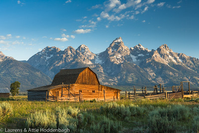 Barn at Mormon row Grand Teton National Park  Filename: CEM005798-TetonNP-WY-USA.jpg