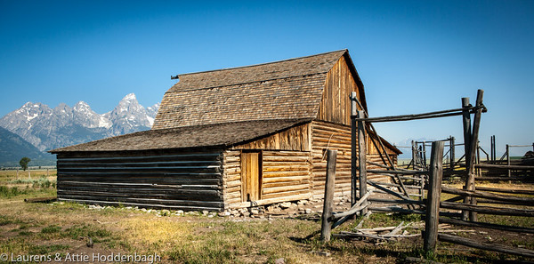 Barn at Mormon row Grand Teton National Park