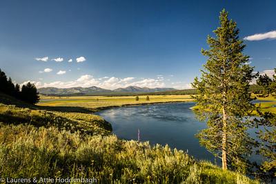 Yellowstone River at Hayden Valley  Filename: CEM005952-YellowstoneNP-WY-USA.jpg