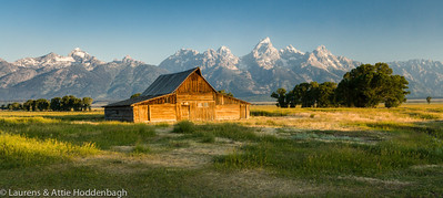 Barn at Mormon row Grand Teton National Park  Filename: CEM005735-TetonNP-WY-USA.jpg