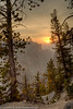 Sunrise in the Grand Canyon of Yellowstone