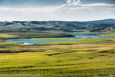 Yellowstone River at Hayden Valley  Filename: CEM005961-YellowstoneNP-WY-USA.jpg