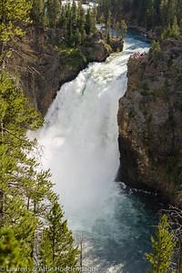 Upper Falls of the Yellowstone River  Filename: CEM005940-YellowstoneNP-WY-USA.jpg
