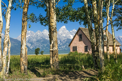 Farm at Grand Teton National Park  Filename: CEM005790-TetonNP-WY-USA.jpg
