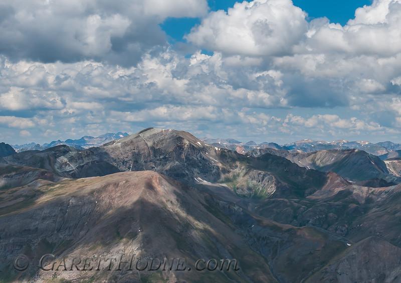 Climbing Sunshine Peak