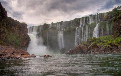 Iguazu Falls, Argentina (HDR Image)
