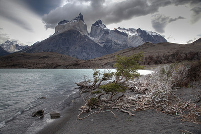 Cuernos Paine, Torres del Paine National Park, Chile. (HDR)