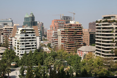 Santiago; the bustling capital of Chile.