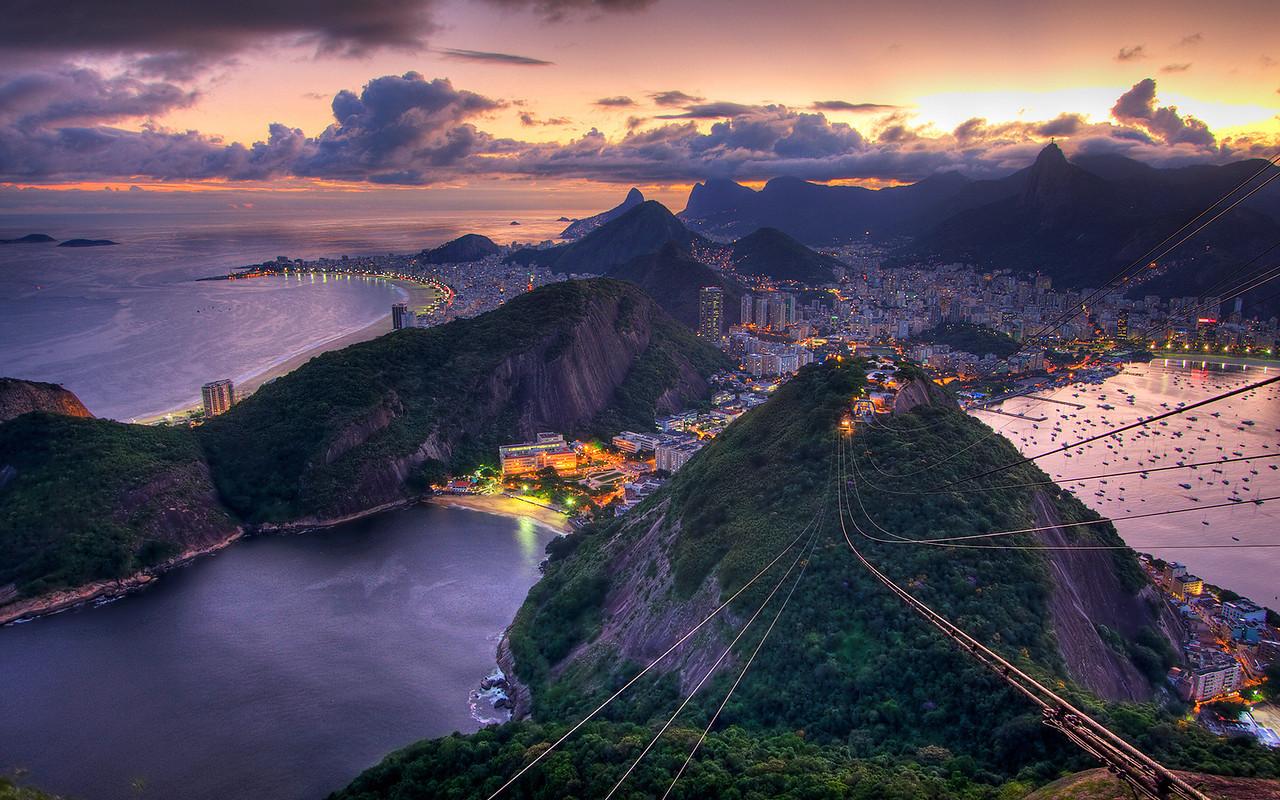 Cidade Marivalhosa, Rio de Janeiro, Brazil (HDR Image)