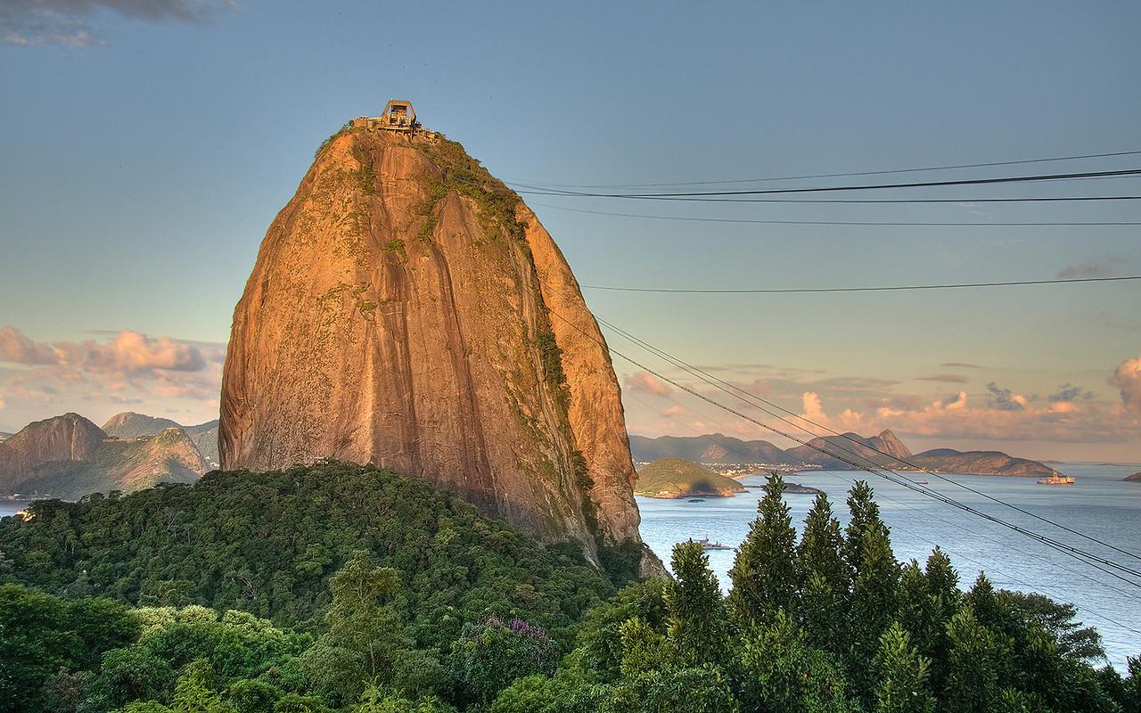 Sugarloaf Mountain (Pao de Acucar), Rio de Janeiro, Brazil (HDR Image)