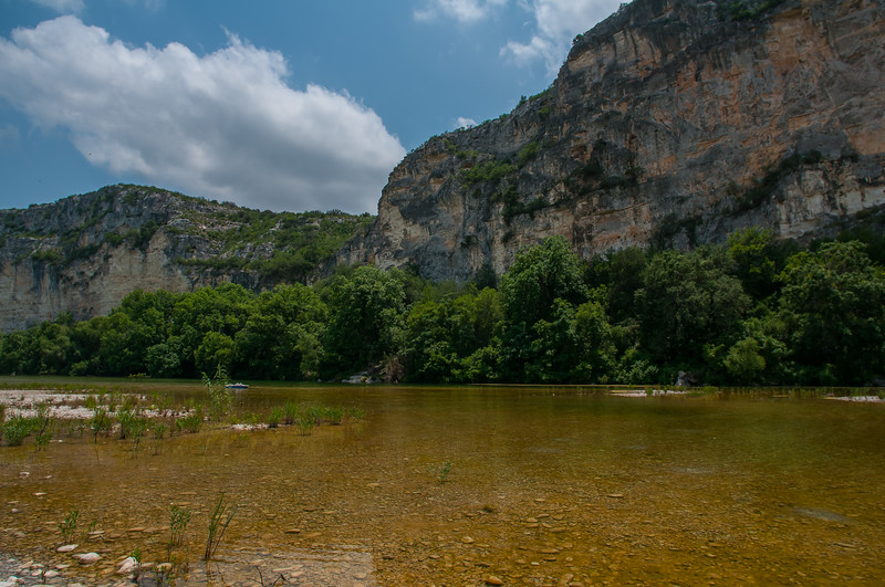 Bluffs over the Nueces River