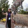 Peace at the dinosaur park