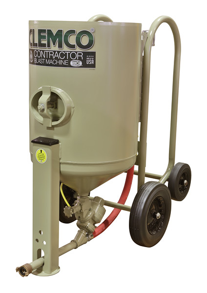 4ft³ Contractor Blast Machine 120 volt Pressure Hold