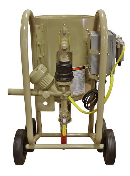 4ft³ Contractor Blast Machine 12 volt