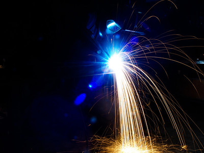 MIG Welding. Photo Martin Bager.