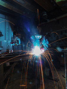 1 MIG Welding. Photo Martin Bager.