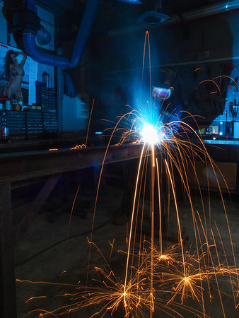 - MIG Welding. Photo Martin Bager.