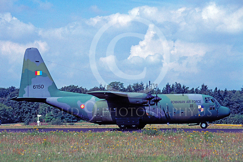 C-130Forg 00029 Lockheed C-130 Hercules Romanian Air Force by Raymond Bosselaar
