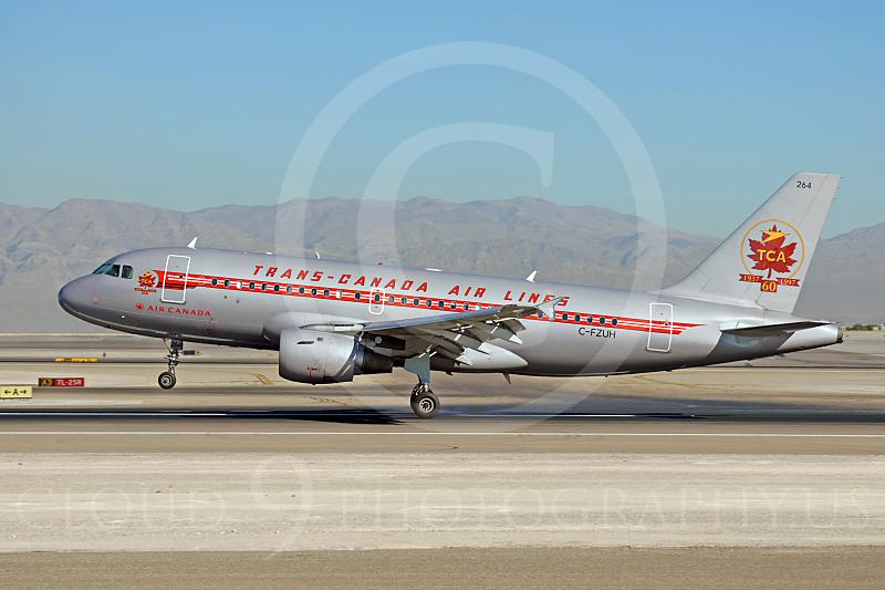 A319 00005 Airbus A319 Air Canada Trans-Canada Air Lines C-FZUH by Dave Budd