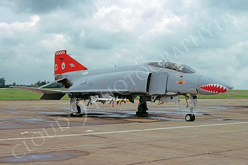 SM 00087 McDonnell Douglas F-4 Phantom II British RAF XV470 July 1992 by John Coupland